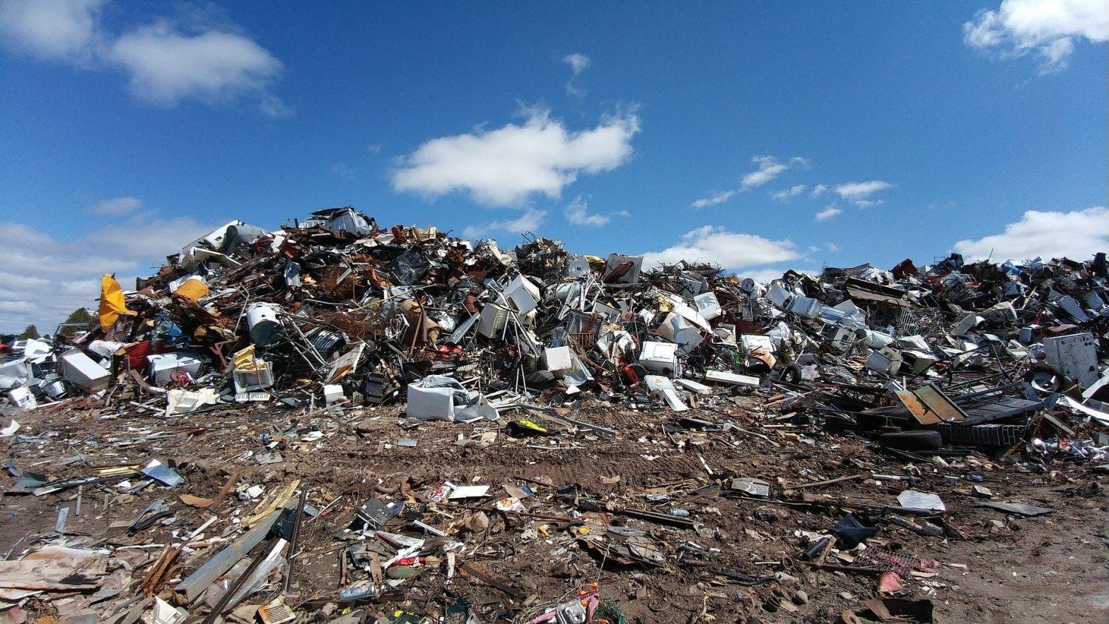 recycle skip bin